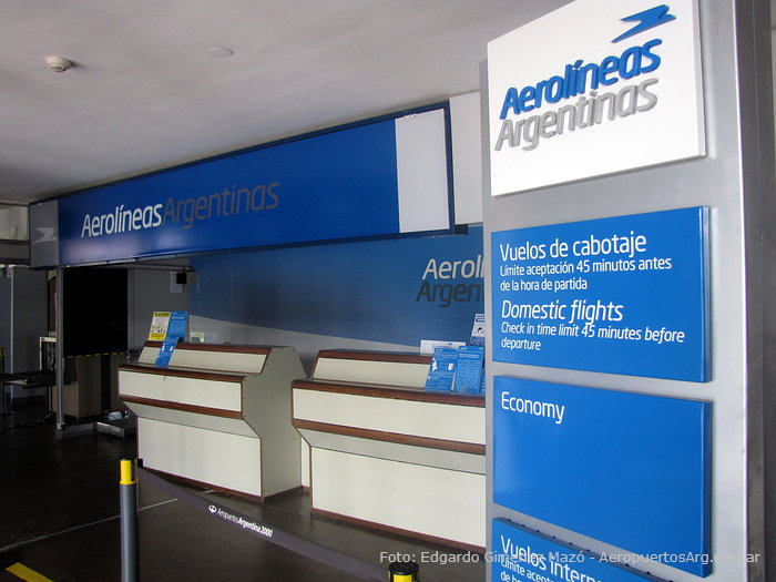 Aeropuerto de Formosa - Check-in