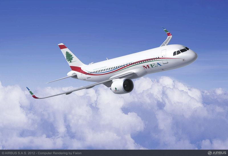 Middle East Airlines - Airbus A320neo