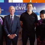 Stephen Jones, Richie McCaw and Cabin Crew